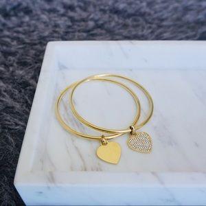 Michael Kors Heart Bangle bracelet